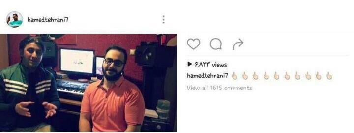 واکنش حامد تهرانی به خبر ازدواجش+عکس