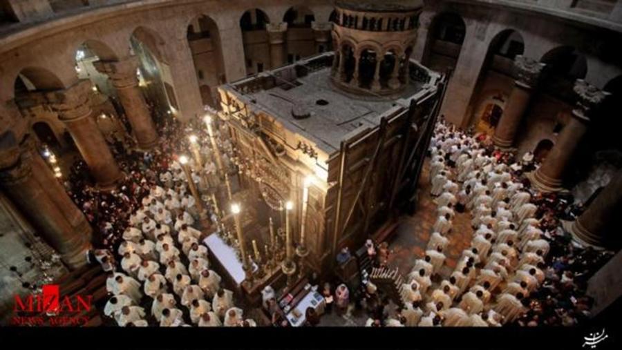 قبر عیسی مسیح گشوده شد +تصاویر