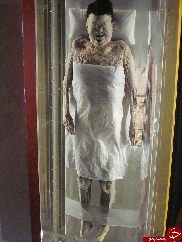 جنازه ای که پس از 2000 سال پیدا شد +تصاویر