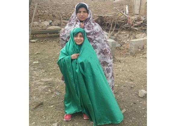 شفای یک دختر درپیادهروی امام رئوف+عکس