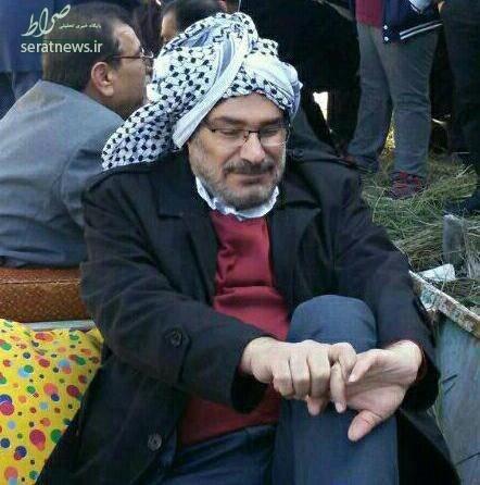 عکس/ شمخانی با پوشش عربی در جشن میلاد پیامبر