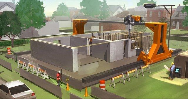 ساخت سازه 200 متری در یک ساعت+تصاویر