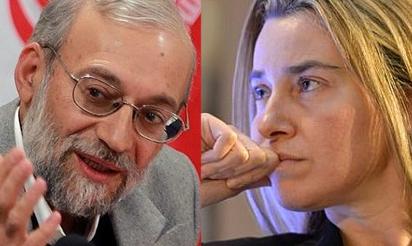 نامه جواد لاریجانی به موگرینی درخصوص منافقین