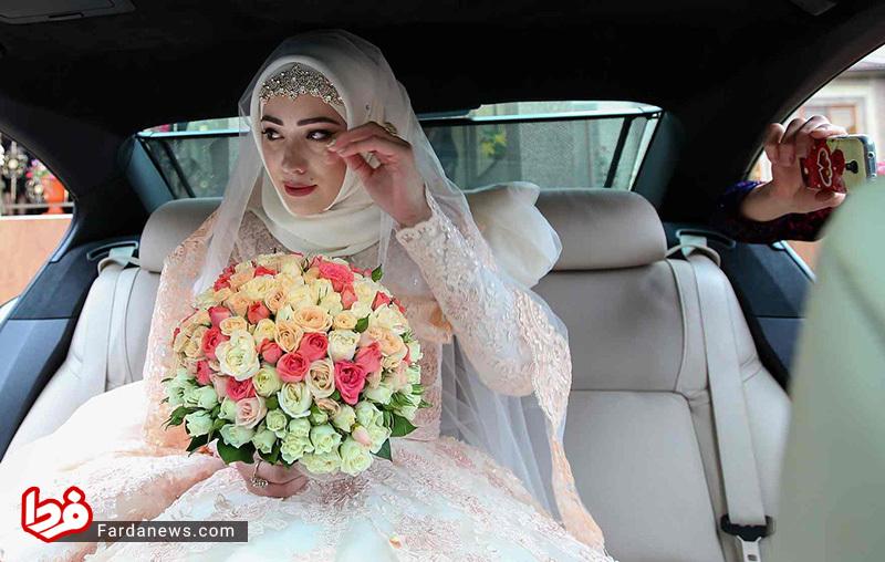 عکس گاردین از یک عروس مسلمان