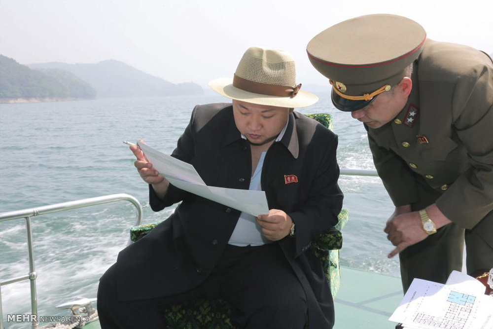 تصاویر/نحوه لباس پوشیدن رهبر کره شمالی