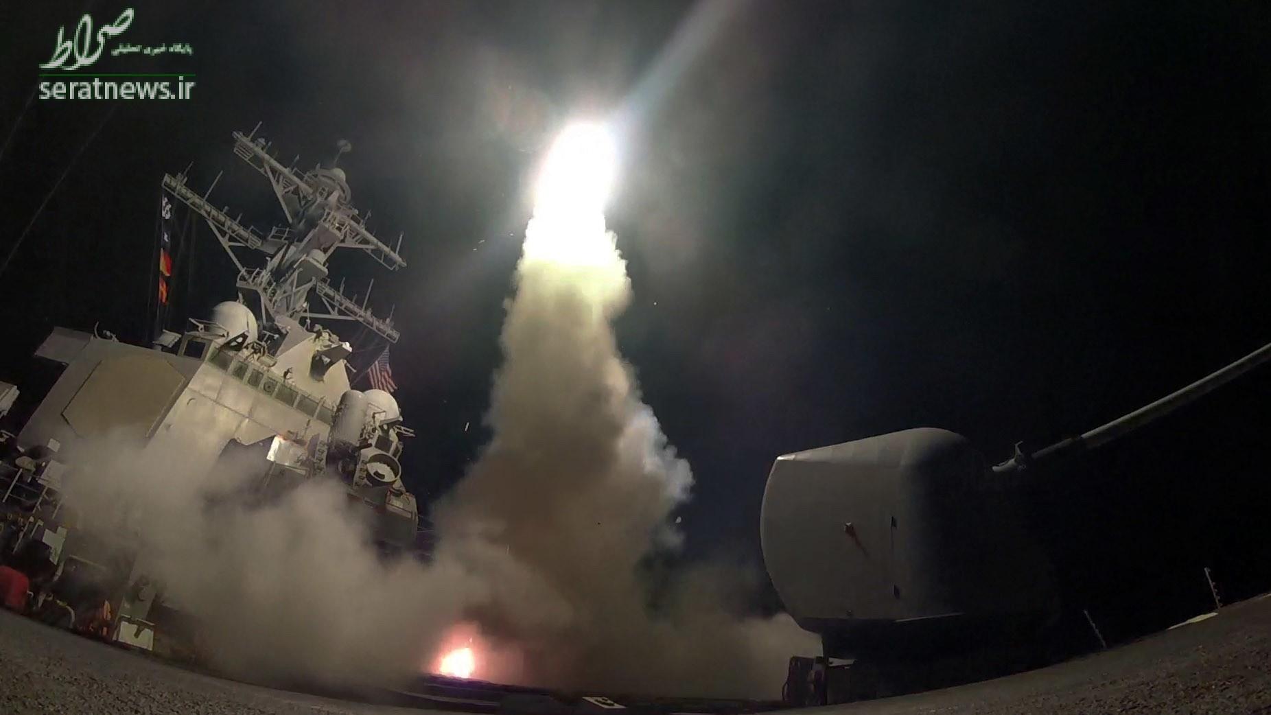 حمله به پایگاه سوریه چقدر برای آمریکا آب خورد؟ +تصاویر