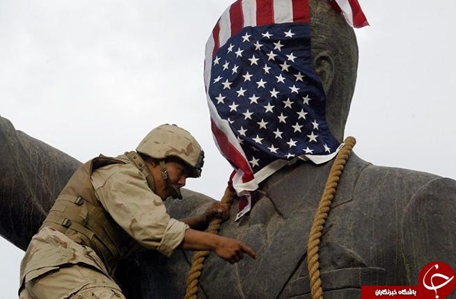 رونمایی از تندیس صدام در اردن +تصاویر