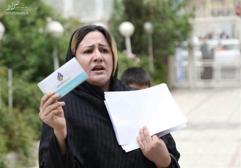 ثبت نام سپرده گذار کاسپین در انتخابات +عکس