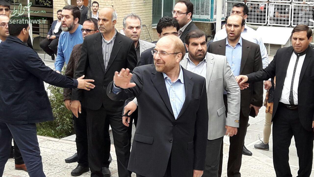 قالیباف در ستاد انتخابات کشور حضور یافت