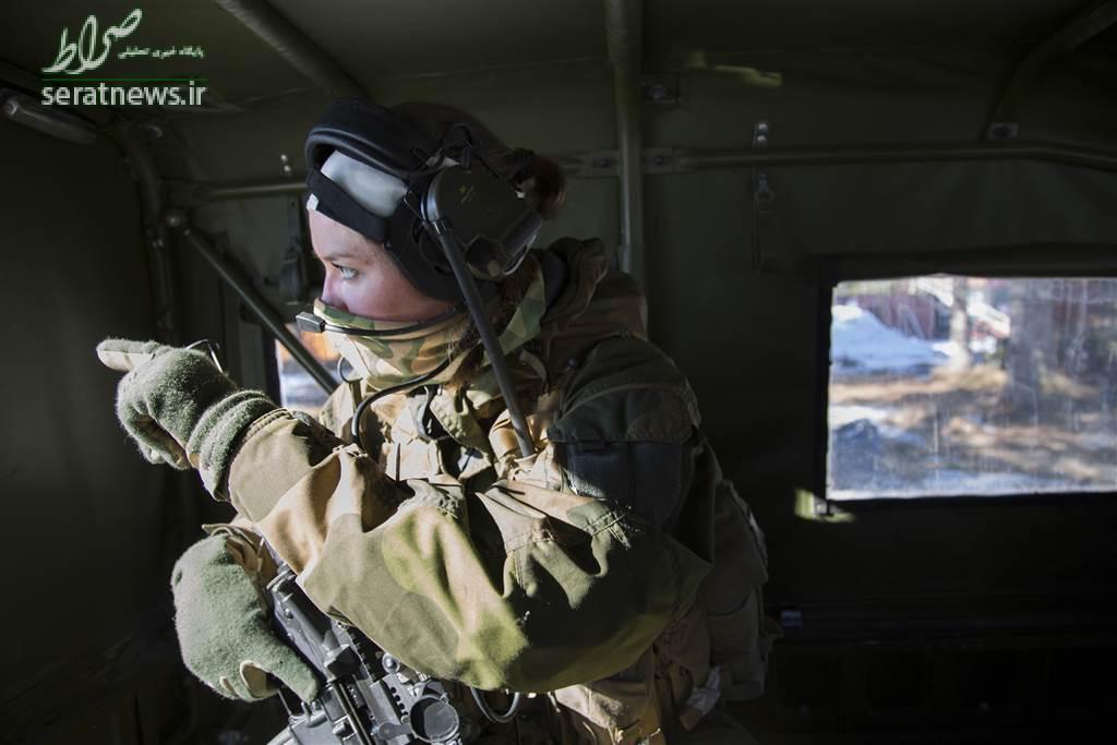 """واحد نیروهای ویژه در جهان با نام """"زنان شکارچی"""""""