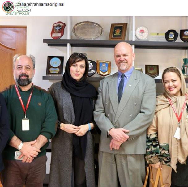 تقدیر نماینده سازمان ملل از بازیگر زن پرحاشیه ایرانی+تصاویر