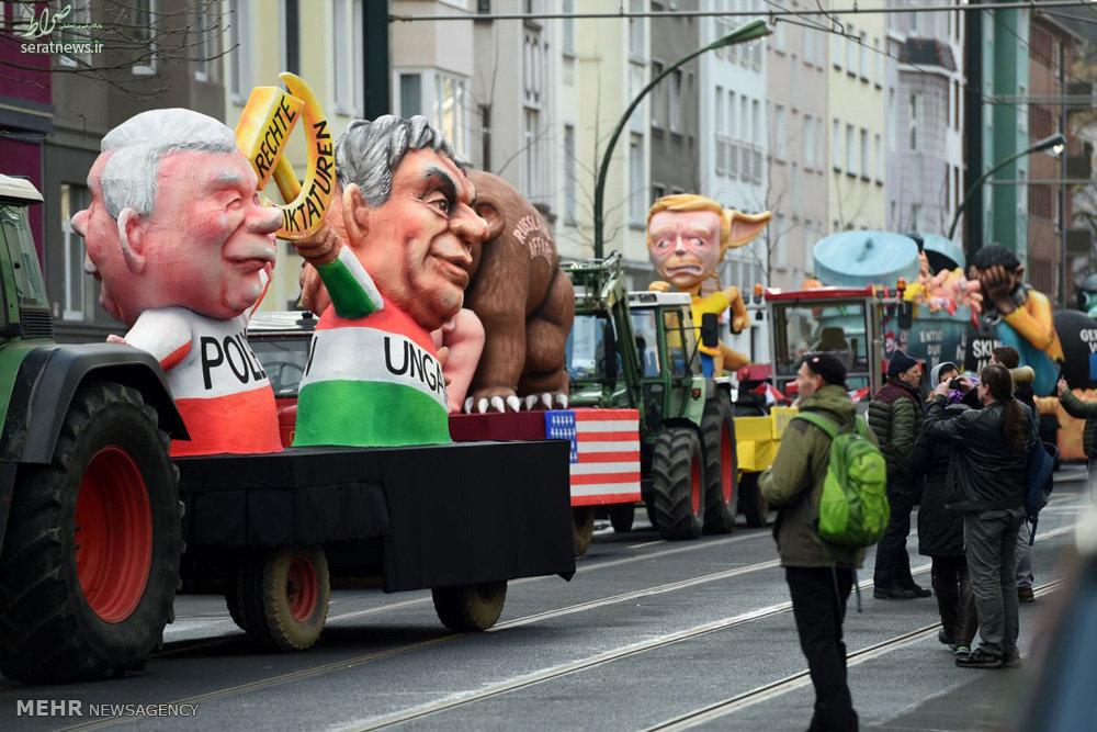 تصاویر/کارناوال خیابانی در آلمان
