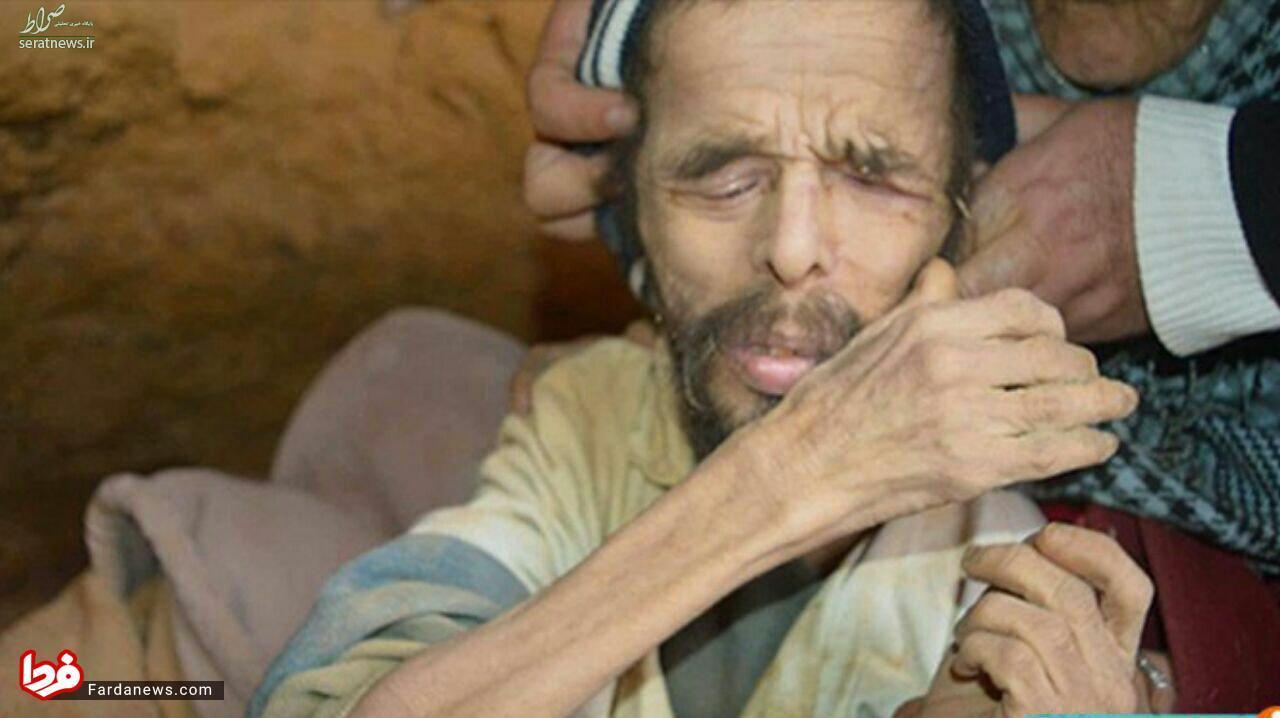 مردی که ۱۵ سال در غار زندگی کرد!+عکس