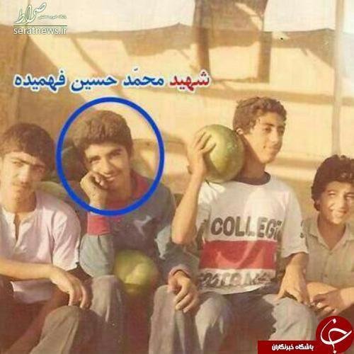 عکس کمتر دیده شده از شهید حسین فهمیده