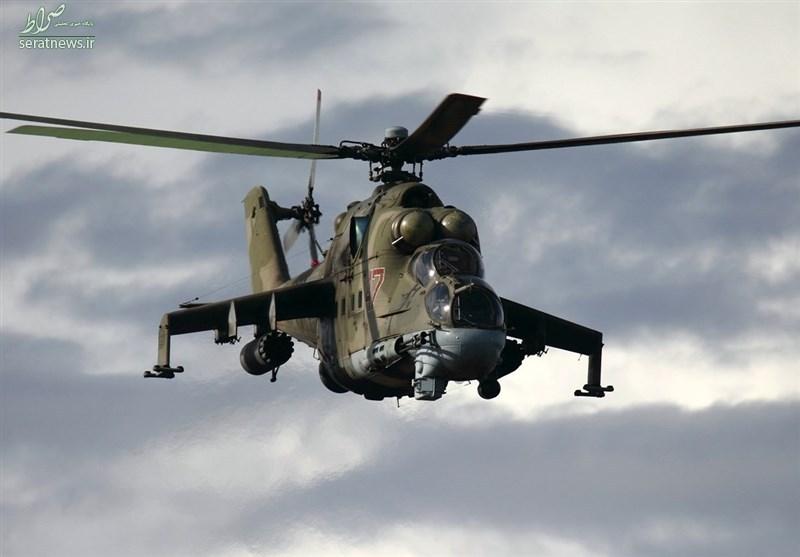 روسیه به سوریه «تانک پرنده» داد +عکس