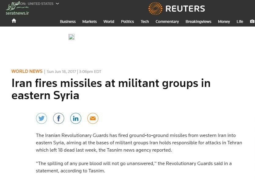 بازتاب حمله موشکی سپاه به تروریستها در جهان/ سعودیها در سکوت