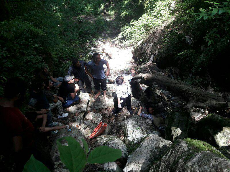آبشار لوه قربانی گرفت +تصویر