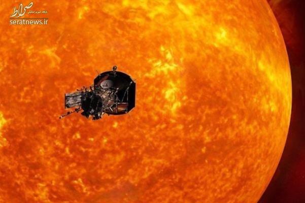 ناسا به دل خورشید نفوذ کرد +تصاویر