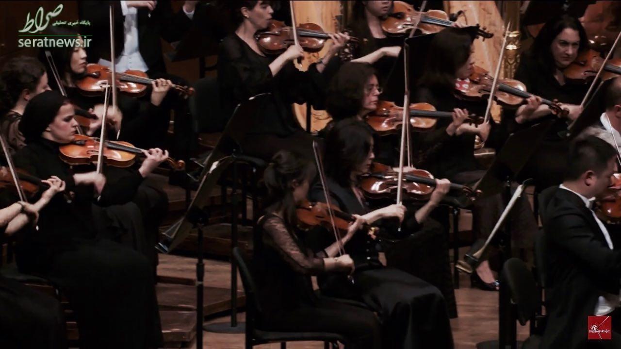نوازنده موسیقی دختر نوازنده بیوگرافی پانیذ فریوسفی ارکستر فیلارمونیک تهران