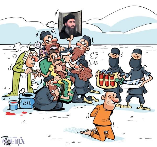 کاریکاتور/ تدارک داعش برای رهبر جدید!