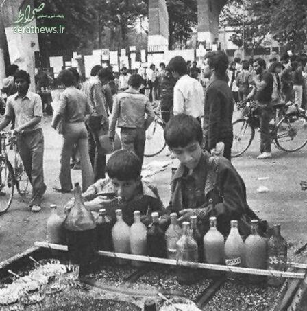 عکس/ فالوده فروشی قبل انقلاب