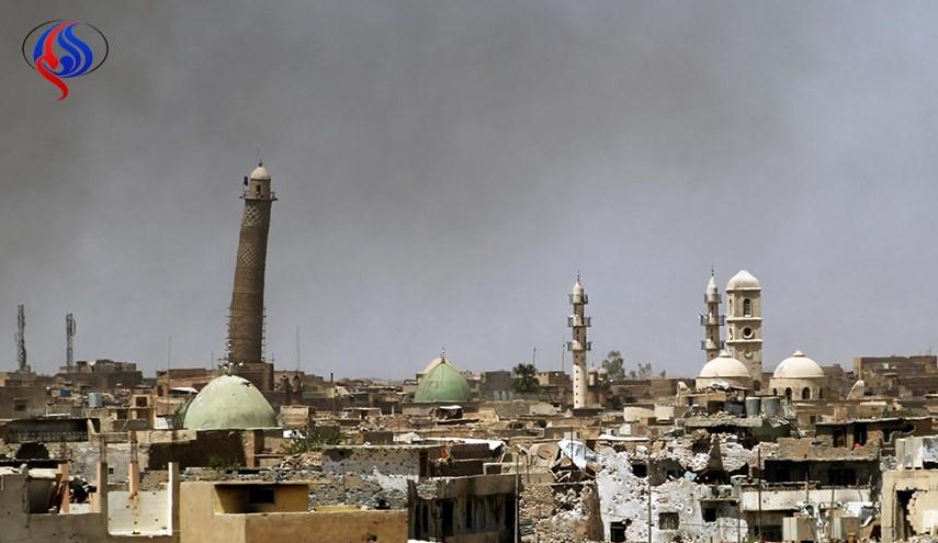 مسجد محل اعلام خلافت البغدادی آزاد شد/ هیچ منطقهای برای داعش باقی نمانده