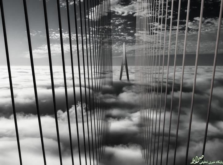 عکس/ خیابانی در آسمان