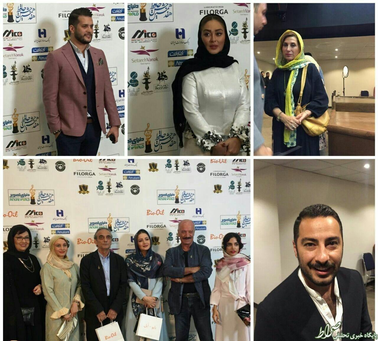 عکس/ هفدهمين جشن سينمايي حافظ و پوشش متفاوت هنرمندان!