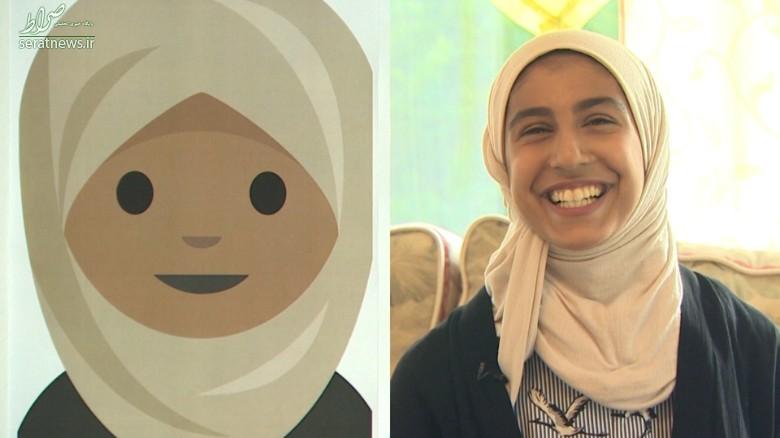 گفتوگوی جالب با طراح شکلک حجاب +عکس