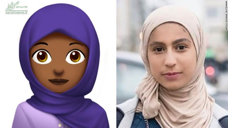 گفتوگوی جالب با طراح عربستانی شکلک حجاب +تصاویر