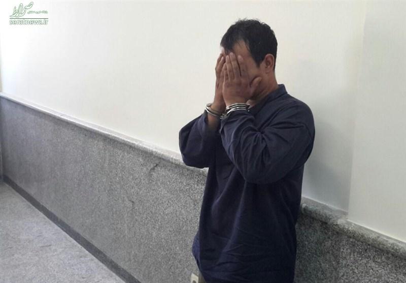 بازداشت جوان افغان قبل از آزار یک دختر در میان شمشادها +عکس