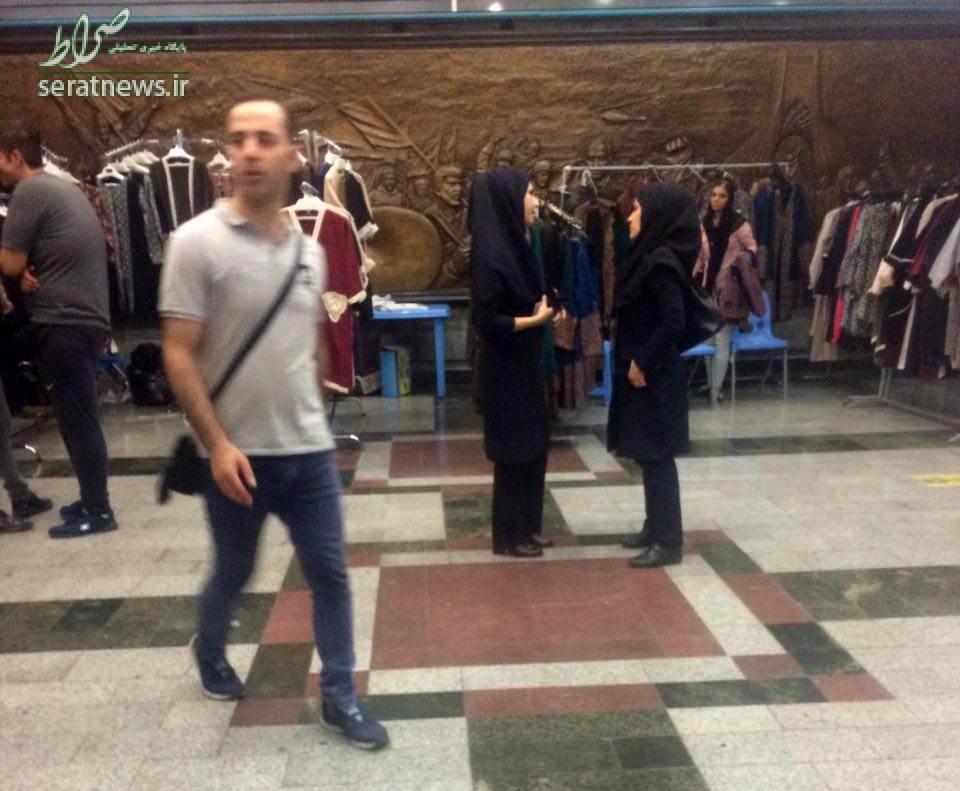 متروی تهران چگونه به بازار شام تبدیل شد؟/ از ترشی و باقلوا تا رژ لب و مانتو در ایستگاه های مترو به صورت قانونی!/ مسئولین نظارتی و مدیران بهداشت در خواب مصلحتی! + فیلم و تصاویر