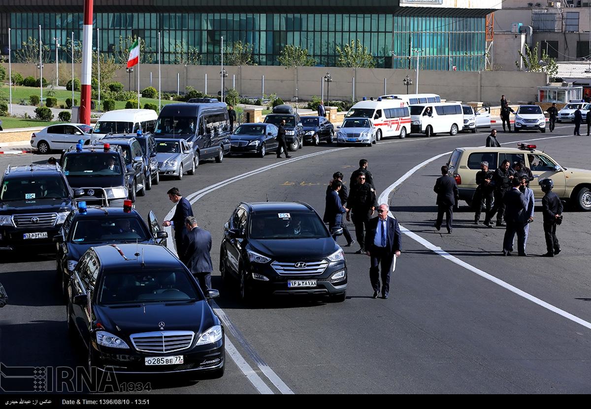 راز تیم حفاظتی پوتین در تهران +تصاویر