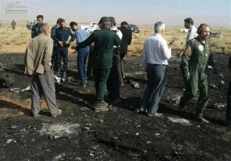 سقوط جنگنده سپاه در استان فارس/ خلبان به شهادت رسید