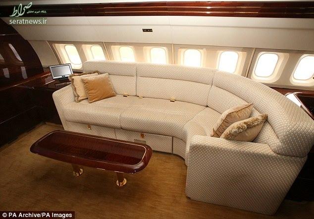 هواپیمای خصوصی شخصیتهای مشهور جهان +تصاویر