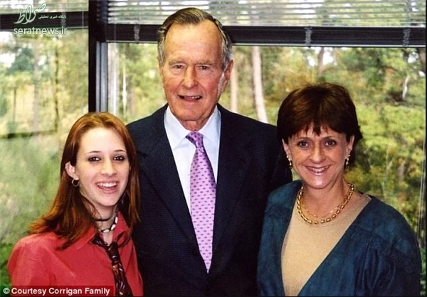 یک زن دیگر هم «بوش پدر» را متهم کرد +عکس