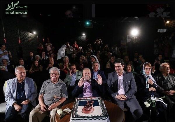 «محمدعلی کشاورز» 88 ساله شد+عکس