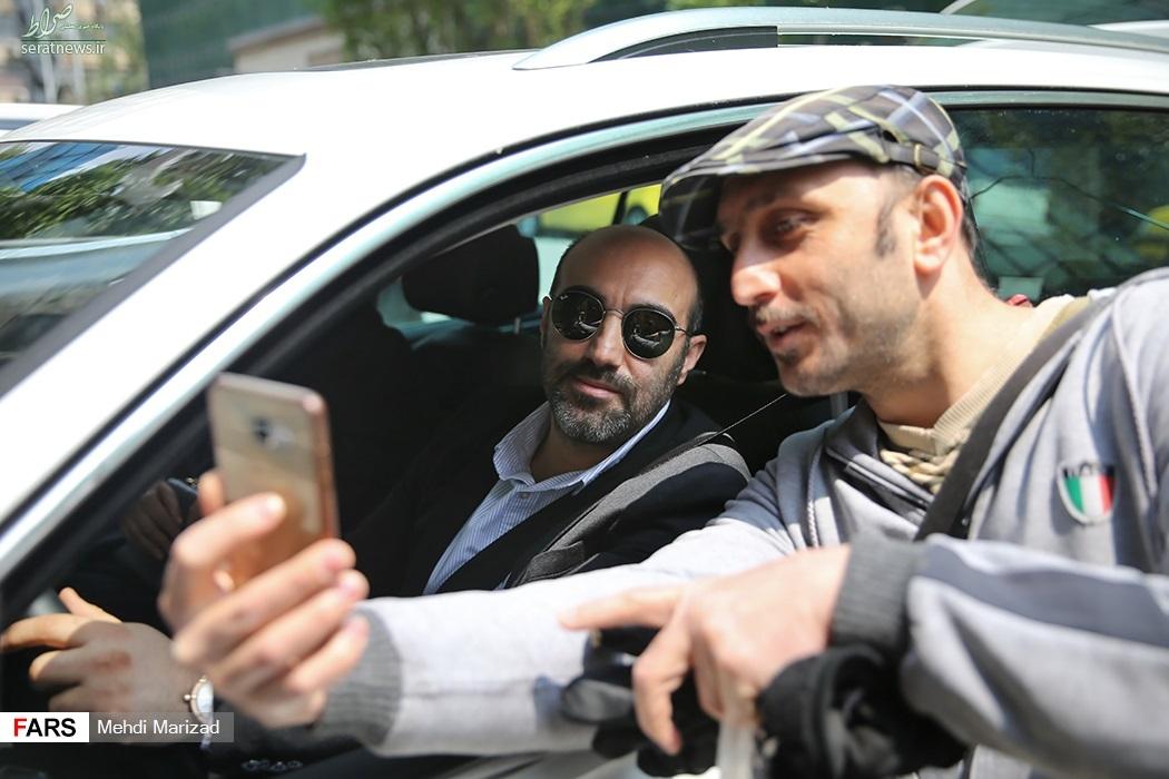عکس/  محسن تنابنده چه ماشینی سوار میشود؟