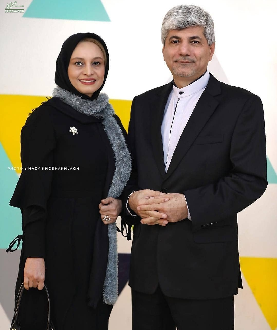 ازدواج خانم بازیگر با سخنگوی سابق وزارت خارجه +عکس و جزئیات