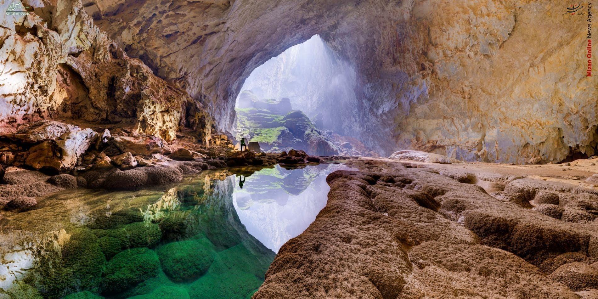 اتفاقی جالب در بزرگترین غار دنیا+عکس