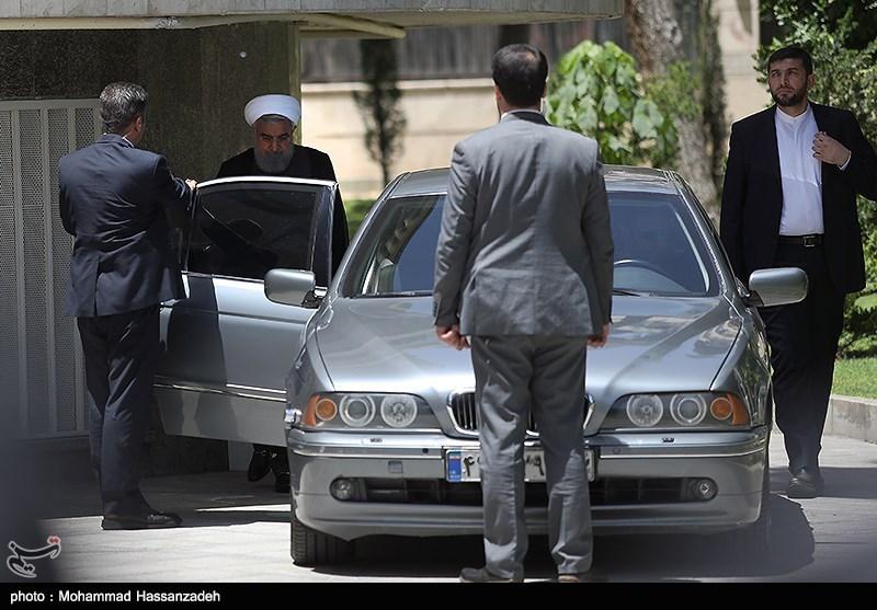 عکس/ماشین لاکچری که حسن روحانی سوار میشود