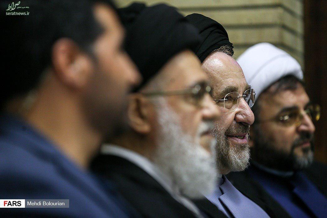 عکس/ ممنوع التصویری محمد خاتمی لغو شد؟