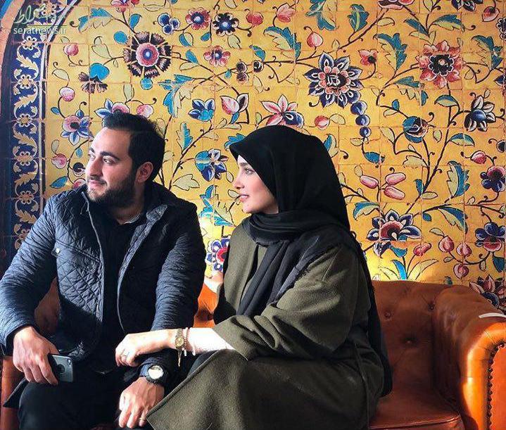 عروس سفیر ایران در دانمارک و شوهرش