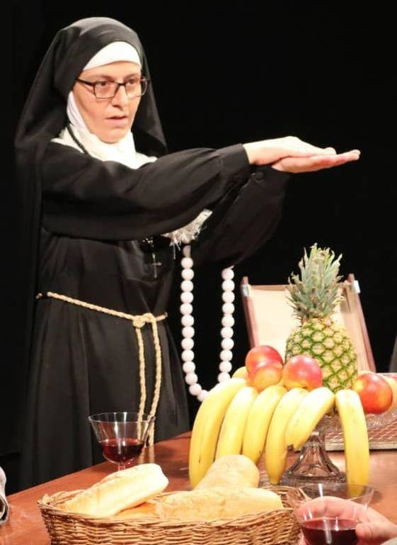 ظاهر متفاوت سوسن پرور در لباس یک راهبه+عکس