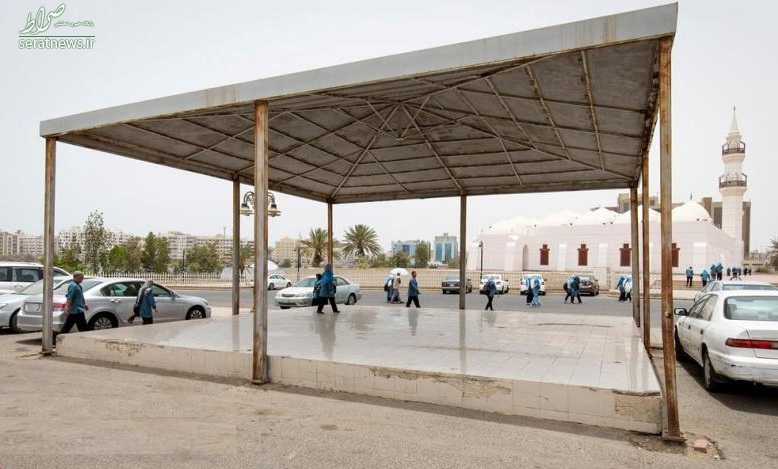 عکس/ سکوی اعدام در عربستان