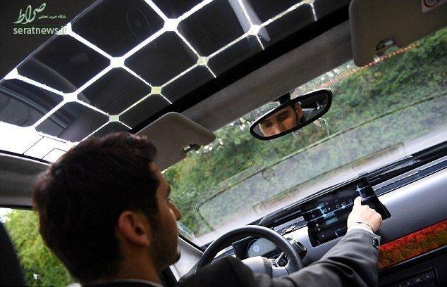 تصاویر/ خودرویی با سقف خورشیدی