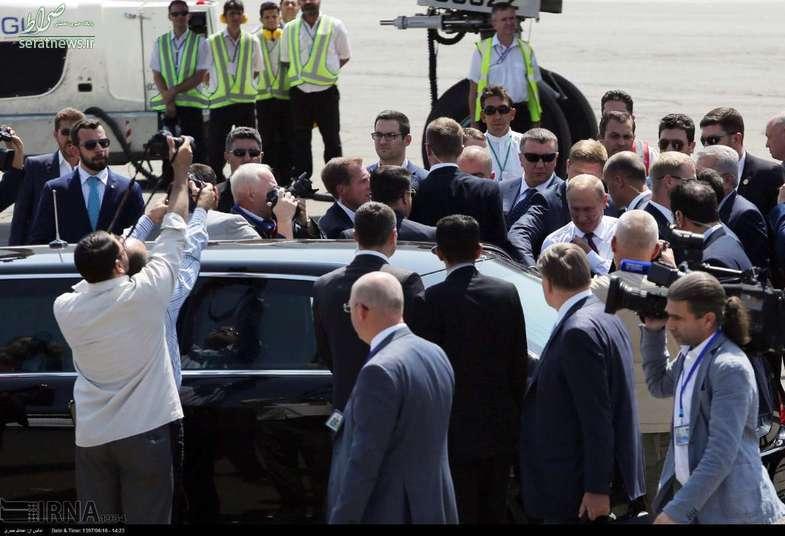 تصاویر/ خودروی پوتین در سفر به تهران