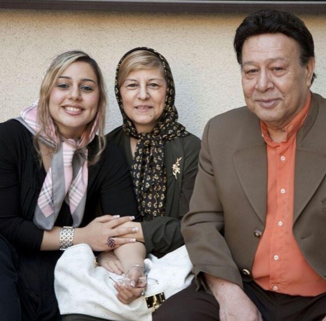 حسین عرفانی در شهلا ناظریان و دخترش