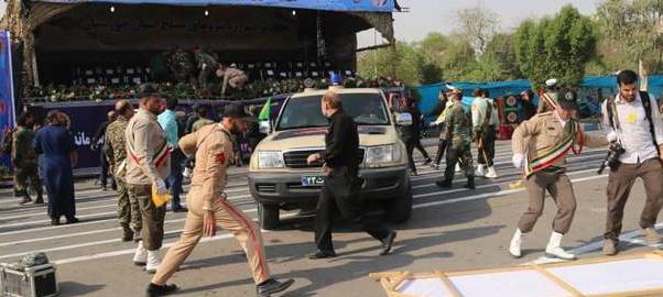 ۱۰ نفر شهید و ۲۱ مجروح در حادثه تروریستی اهواز/ یک خبرنگار شهید شد