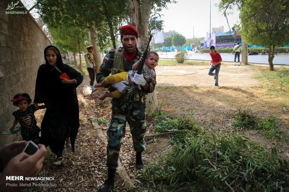 عکس تروریستهای امروز در اهواز